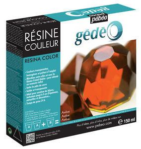 Gedeo Colour Resin  Amber/rav (150 ml)