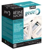 Gedeo Pearl Resin White/perlemor (150 ml)