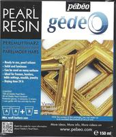 Gedeo Pearl Resin Gold/guldfarvet (150 ml)