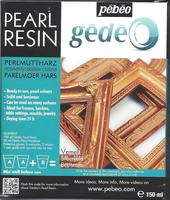 Gedeo Pearl Resin, Antique Gold/varm guldfarvet (150 ml)